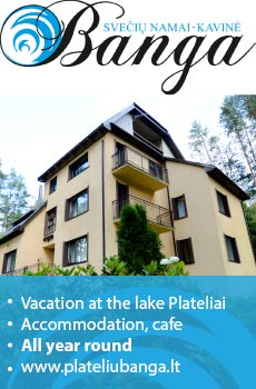 Vacation near Plateliai