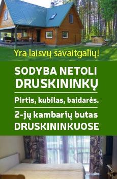 Domek w pobliżu Druskiennik