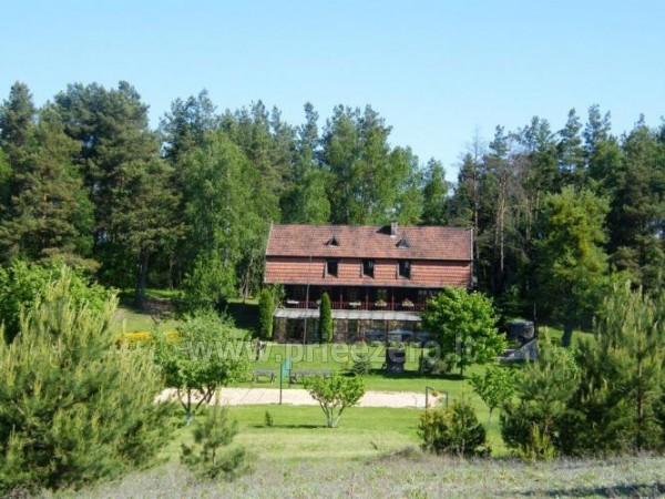 Homestead in Lazdijai region at the lake Trikojis Bertašiūnų Vienkiemis - 4