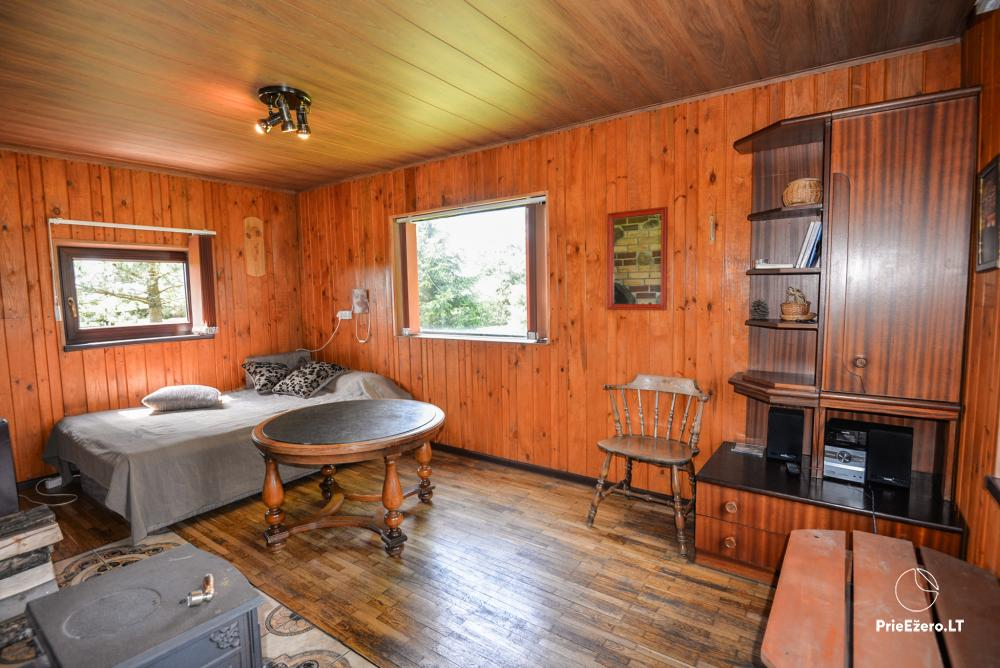 Relaxation in a homestead with sauna in Varena region, in Lithuania - 9