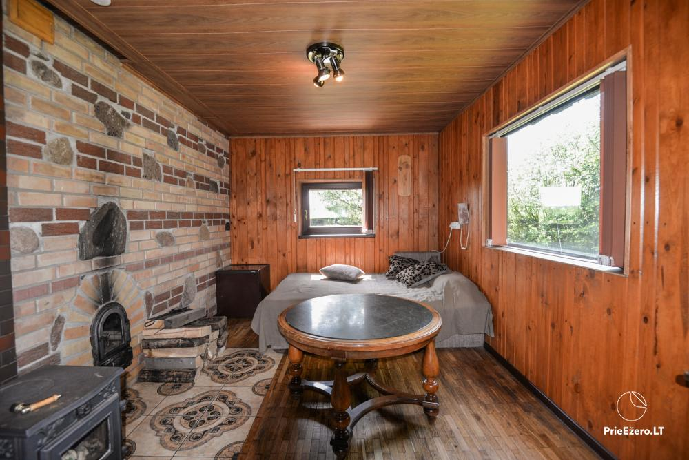 Relaxation in a homestead with sauna in Varena region, in Lithuania - 22