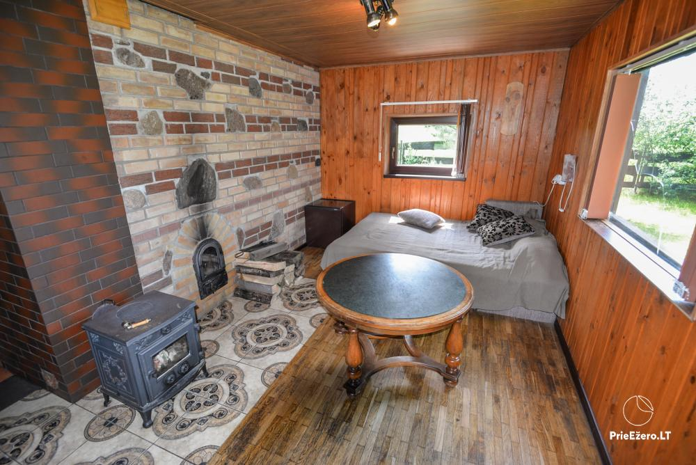 Relaxation in a homestead with sauna in Varena region, in Lithuania - 21