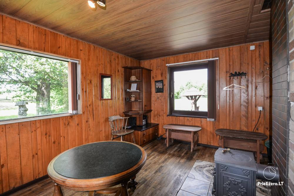 Relaxation in a homestead with sauna in Varena region, in Lithuania - 20