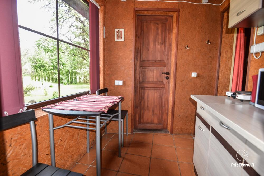 Relaxation in a homestead with sauna in Varena region, in Lithuania - 19