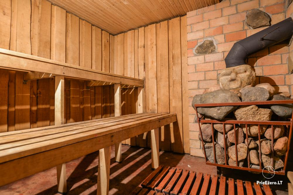 Relaxation in a homestead with sauna in Varena region, in Lithuania - 17
