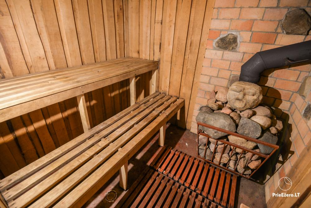 Relaxation in a homestead with sauna in Varena region, in Lithuania - 6
