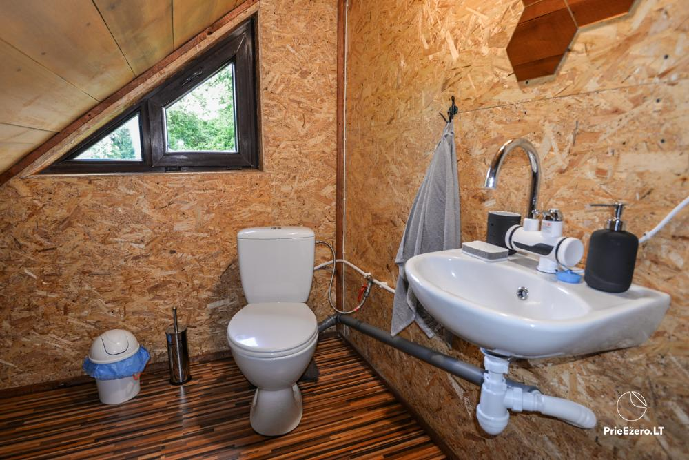Relaxation in a homestead with sauna in Varena region, in Lithuania - 14