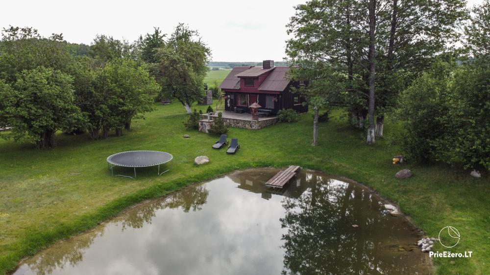 Relaxation in a homestead with sauna in Varena region, in Lithuania - 12