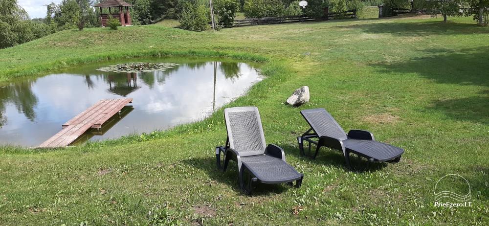 Отдых в усадьбе с сауной в Варенском районе, в Литве - 2