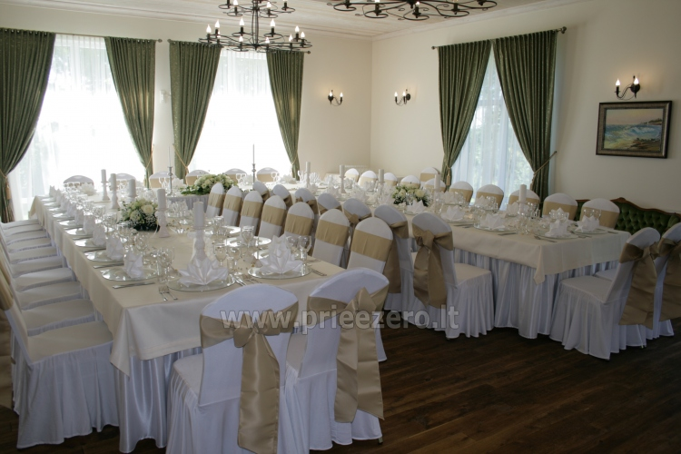 MEMELIO DVARAS - Manor in Klaipeda district - ballroom, sauna, apartments - for your celebrations! - 8