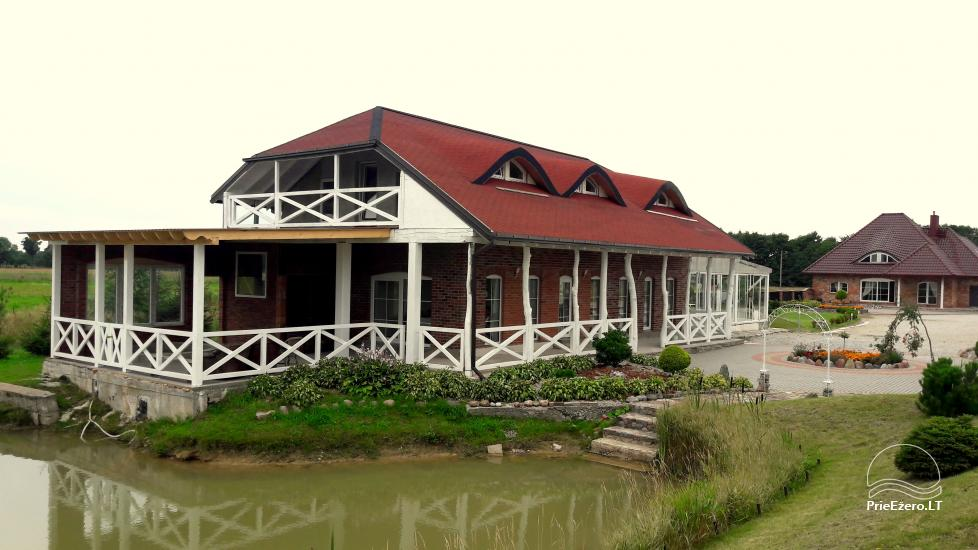 Homestead for holiday and feasts in Klaipeda district Klotilda - 2