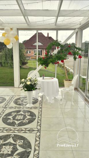 Homestead for holiday and feasts in Klaipeda district Klotilda - 33