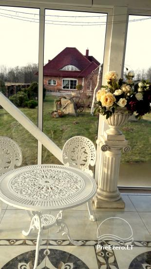 Homestead for holiday and feasts in Klaipeda district Klotilda - 34