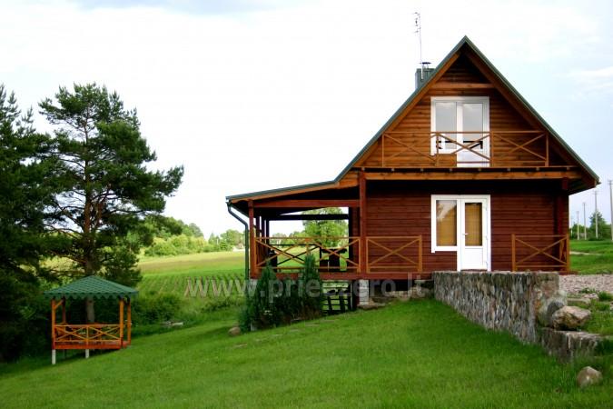 Erholung in Litauen - Landhaus am See in Trakai Bezirk Vilkokšnio krantas - 12