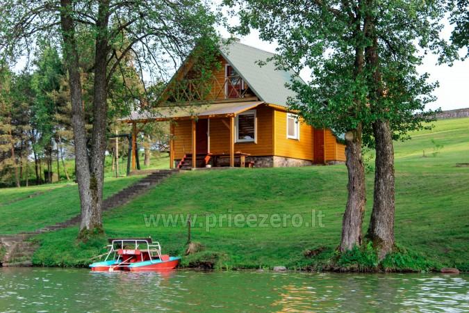 Urlop na Litwie - gospodarstwo nad jeziorem w rejonie Trockim Vilkokšnio krantas - 2