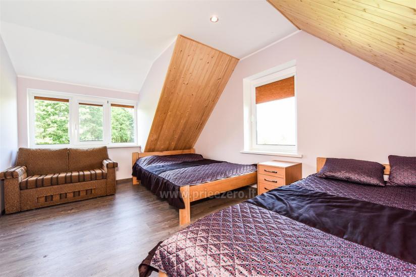 Erholung in Litauen - Landhaus am See in Trakai Bezirk Vilkokšnio krantas - 28