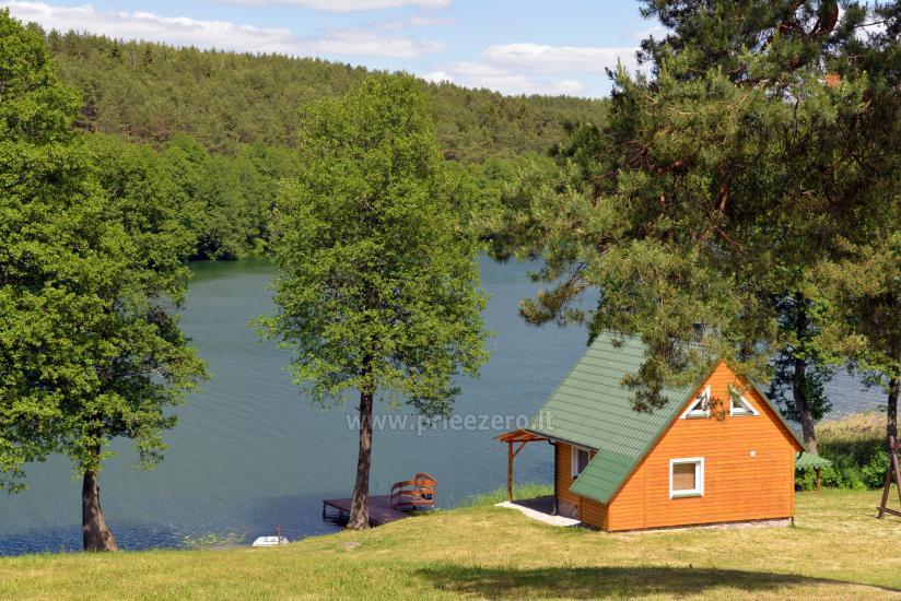 Erholung in Litauen - Landhaus am See in Trakai Bezirk Vilkokšnio krantas - 32