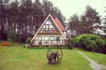 "Homestead ""Namelis"" in Trakai district at the lake Vilkoksniai"