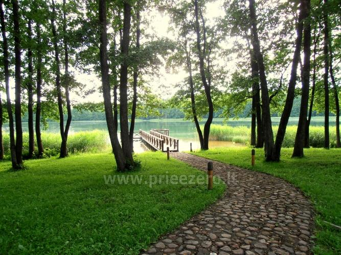 Gospodarstwo dla wakacje nad jeziorem w Trockim rejonie, Litwa - 4