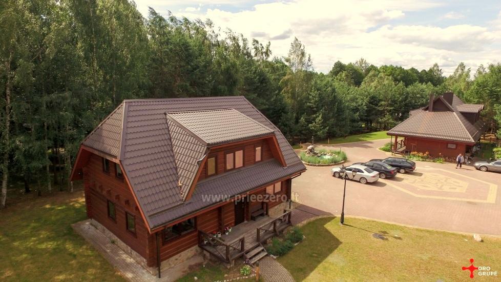 Gospodarstwo dla wakacje nad jeziorem w Trockim rejonie, Litwa - 2