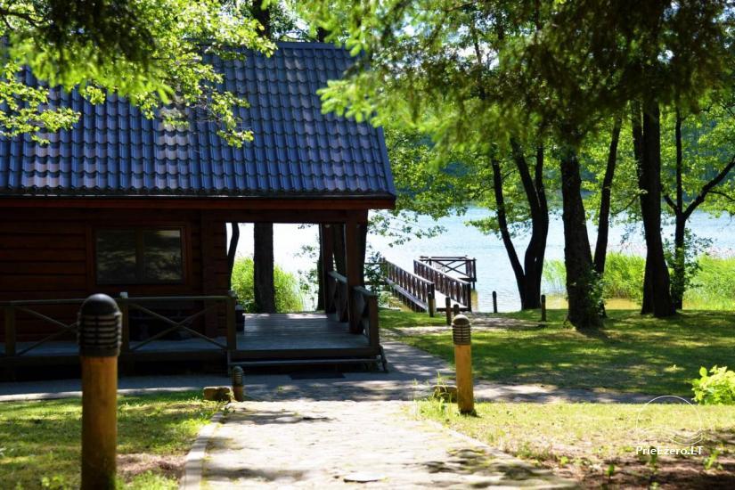 Gospodarstwo dla wakacje nad jeziorem w Trockim rejonie, Litwa - 1