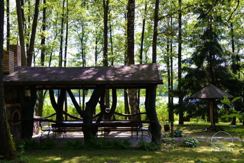 Nikronio homestead at the lake in Trakai district - 19