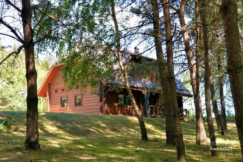 Landhaus am See in trakai Bezirk, Litauen - 8