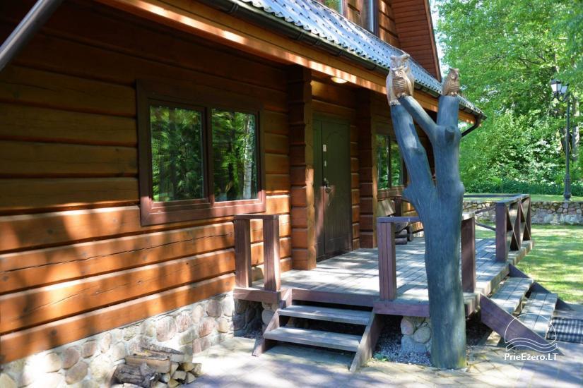 Nikronio homestead at the lake in Trakai district - 12