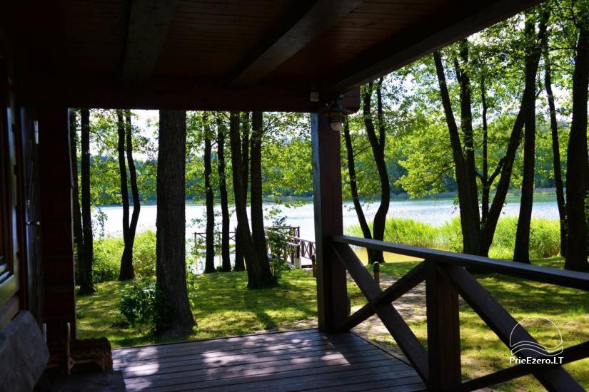 Nikronio homestead at the lake in Trakai district - 15