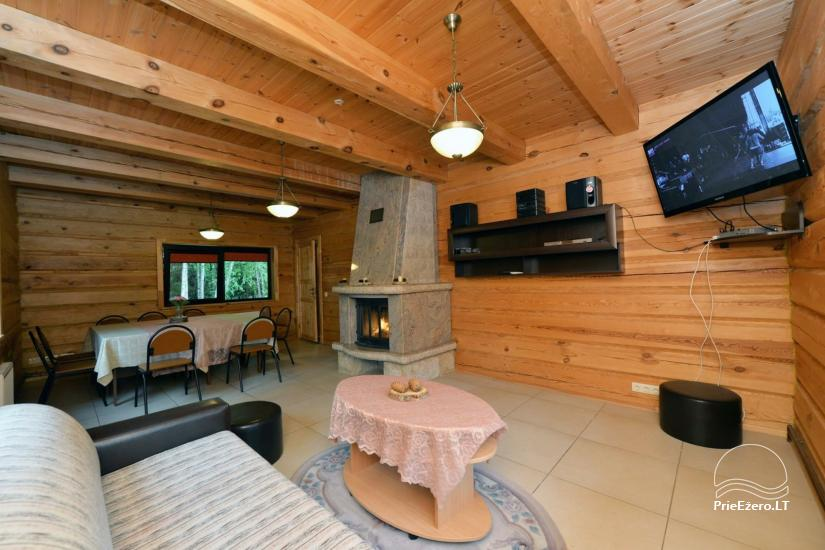 Gospodarstwo dla wakacje nad jeziorem w Trockim rejonie, Litwa - 9