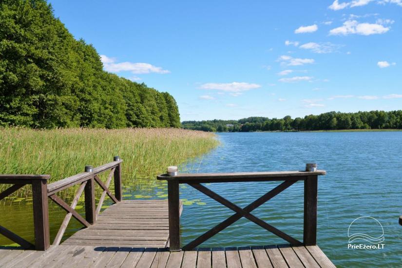 Gospodarstwo dla wakacje nad jeziorem w Trockim rejonie, Litwa - 5