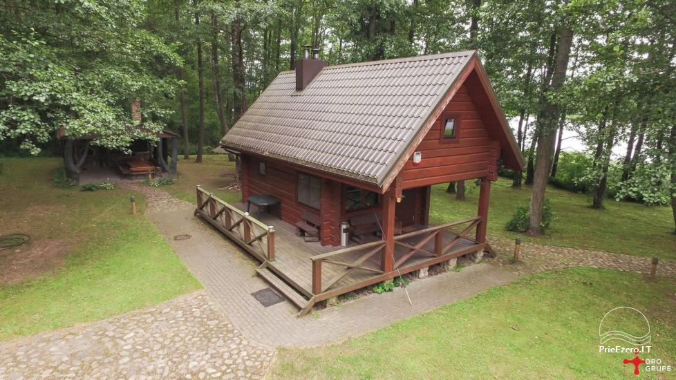 Nikronio homestead at the lake in Trakai district - 14
