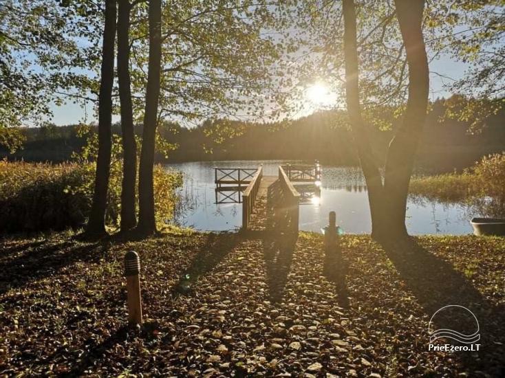 Nikronio homestead at the lake in Trakai district - 28