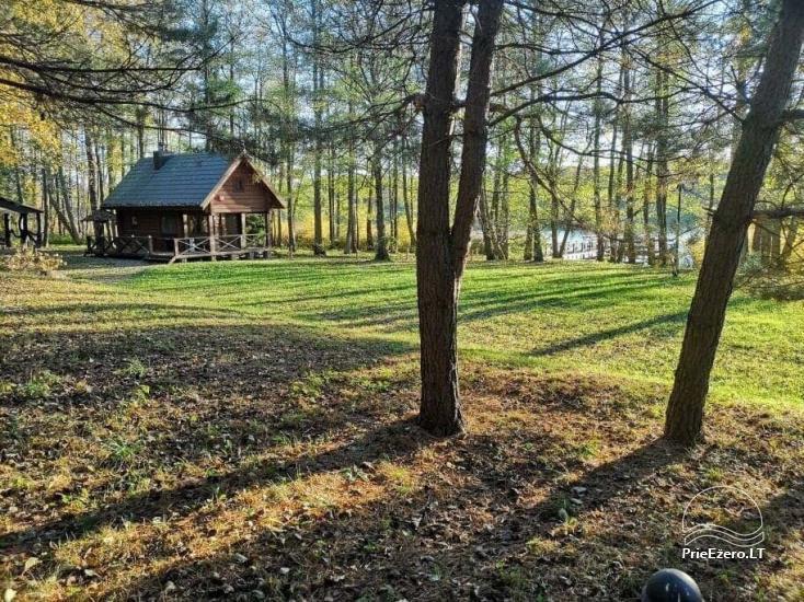 Nikronio homestead at the lake in Trakai district - 26
