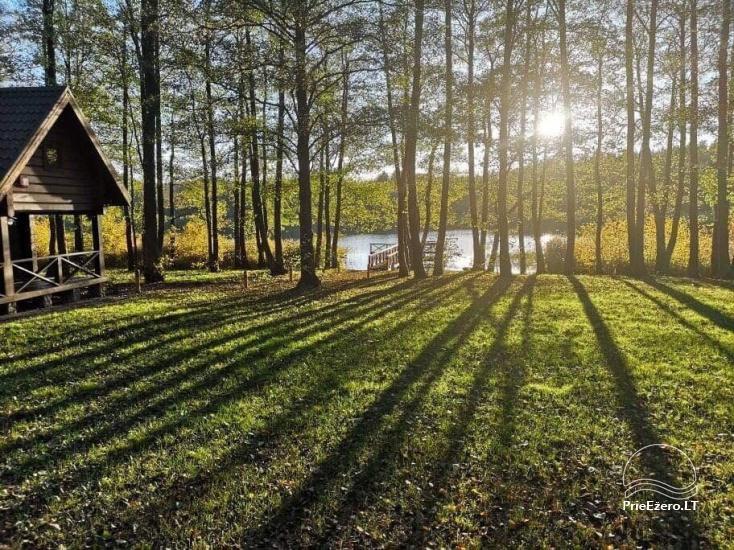 Nikronio homestead at the lake in Trakai district - 27
