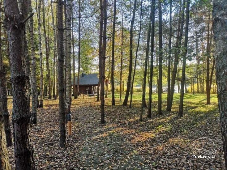 Nikronio homestead at the lake in Trakai district - 25