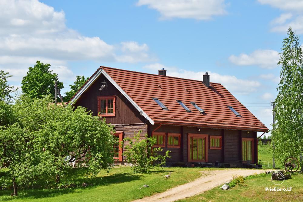 Homestead near the lake, 25km from Vilnius - 3
