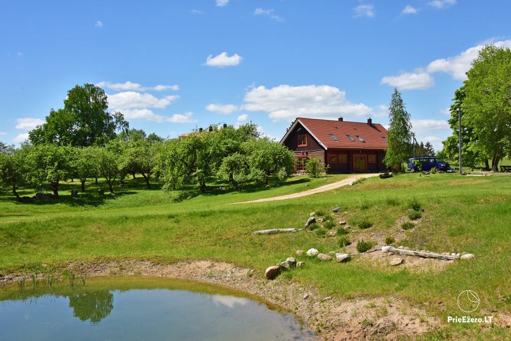 Homestead near the lake, 25km from Vilnius - 2