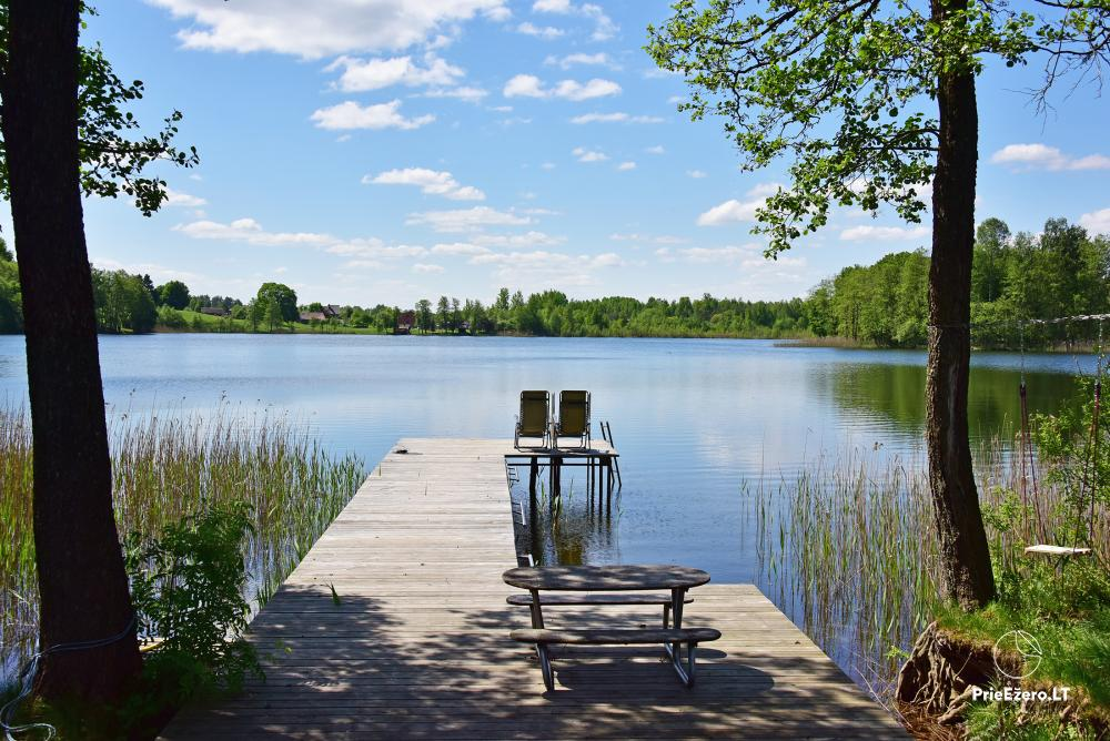 Homestead near the lake, 25km from Vilnius - 44