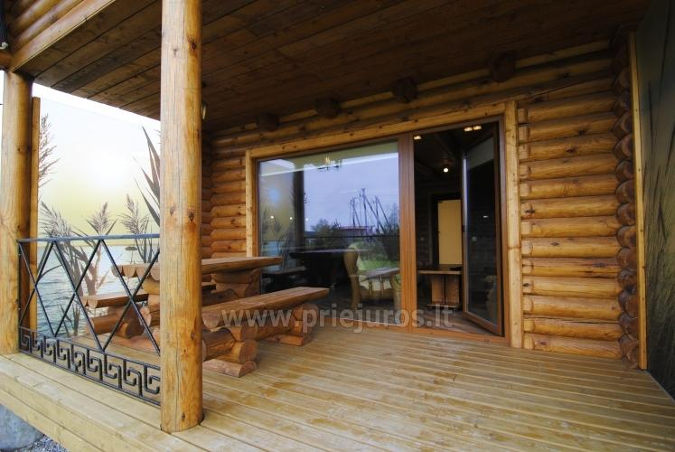 Apartments in log-house in homestead near Palanga - 17