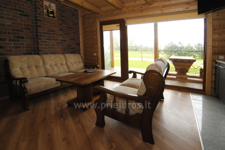Apartments in log-house in homestead near Palanga - 19