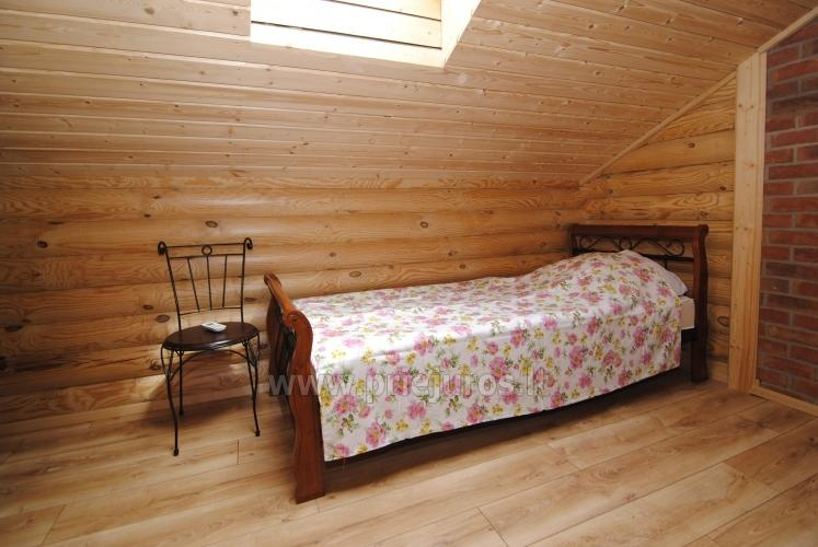 Apartments in log-house in homestead near Palanga - 21
