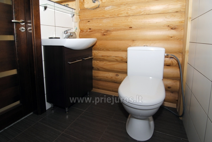 Apartments in log-house in homestead near Palanga - 22