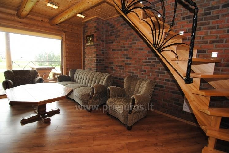 Apartments in log-house in homestead near Palanga - 23