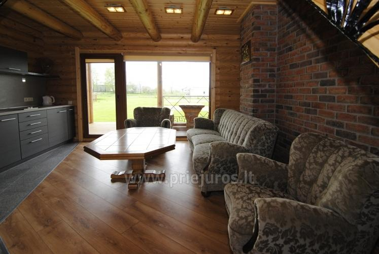 Apartments in log-house in homestead near Palanga - 24