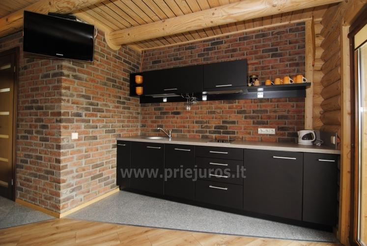 Apartments in log-house in homestead near Palanga - 25