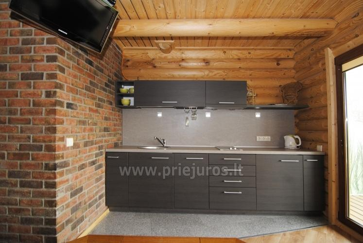 Apartments in log-house in homestead near Palanga - 26