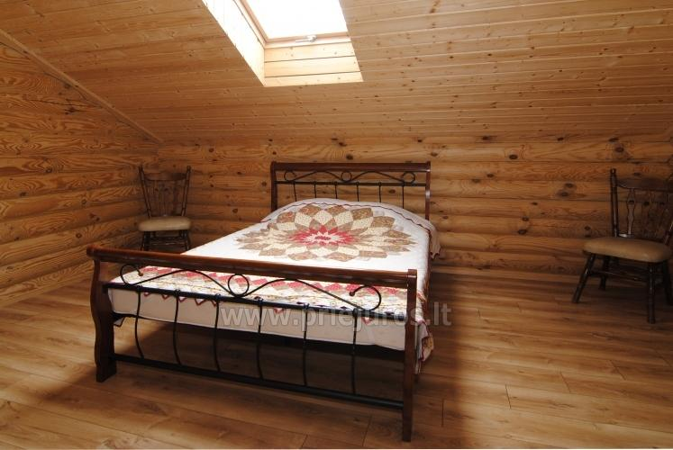 Apartments in log-house in homestead near Palanga - 27