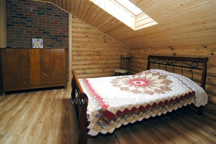 Apartments in log-house in homestead near Palanga - 28