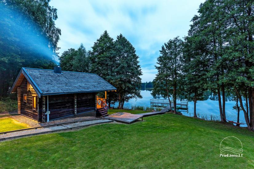 Holland Park in Moletai district – holiday cottages and houses on the lakeshore for families and friends - 34